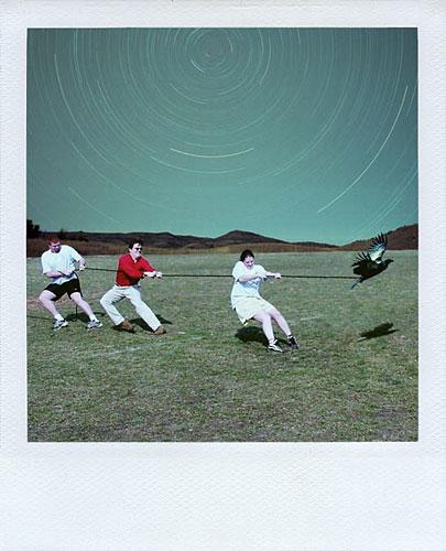 Julien Pacaud :: Polaroids qui n'ont jamais existé #10