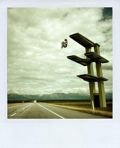 Julien Pacaud :: Polaroids qui n'ont jamais existé #3