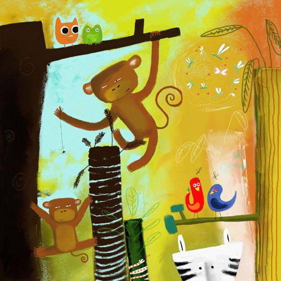 annejulie :: Drôle de jungle #2