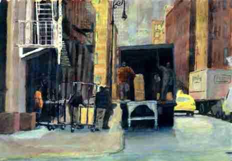 Bert :: Acryliques, New York #3