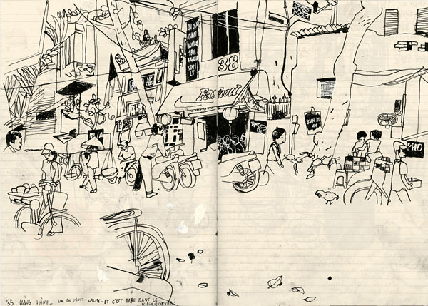 Benoît Guillaume :: Vietnam, klaxons, Laos #4