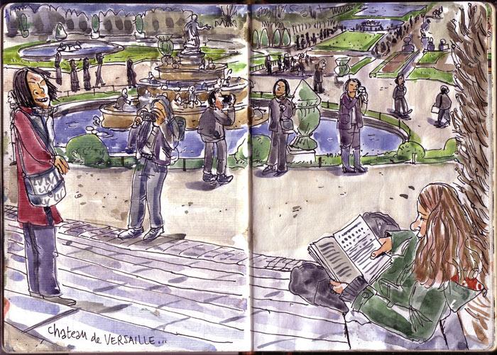 Lolmède :: Pages de carnet #2