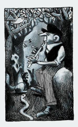 Vincent Vanoli :: Dessins en gris #2