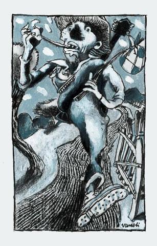 Vincent Vanoli :: Dessins en gris #4