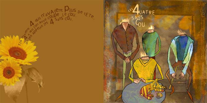 Agata :: Les quatre sans cou #1