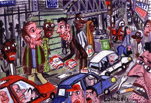 Lolmède :: Peintures du quotidien #13