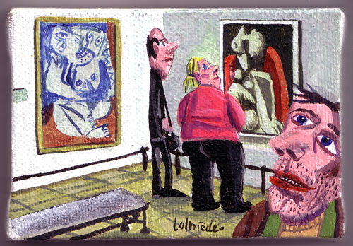Lolmède :: Peintures du quotidien #21