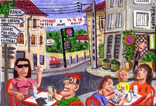 Lolmède :: Peintures du quotidien #4