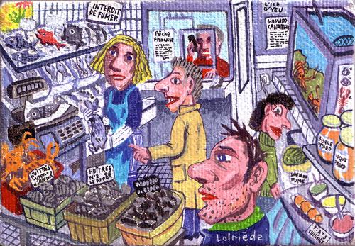 Lolmède :: Peintures du quotidien #7