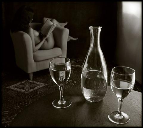Pascal Renoux :: Fruits, verres et lys #3