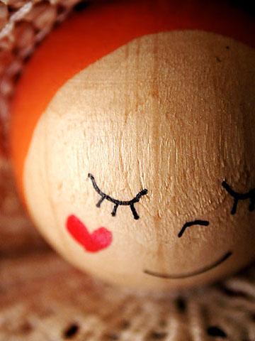 Sophie Thouvenin :: Smiley bois tendre #1