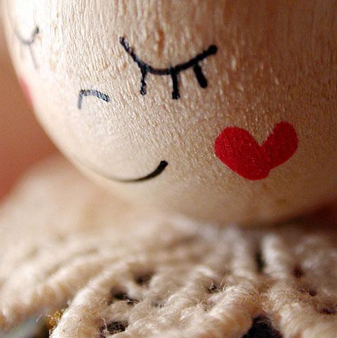 Sophie Thouvenin :: Smiley bois tendre #2