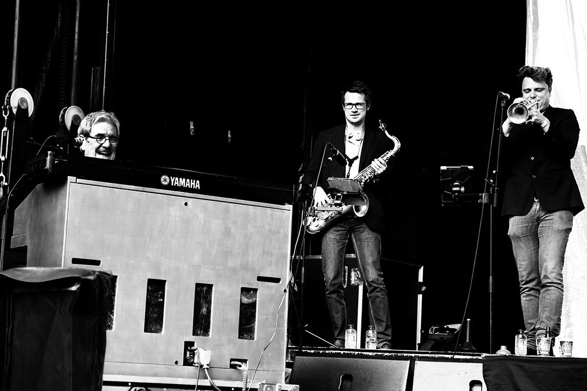 André Brasseur & Band by Laurent Orseau - Parc du Cinquantenaire - Fête de la Musique - Brussels, Belgium - 2016-06-19 #2
