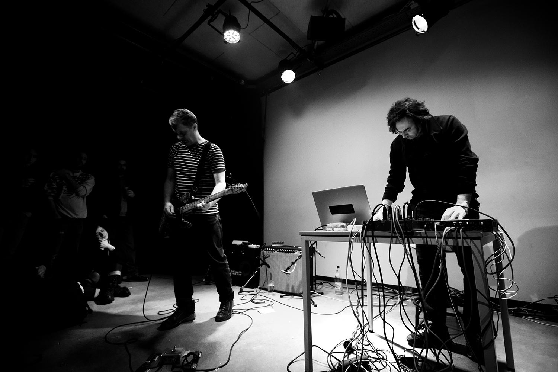 Andy Moor & Yannis Kyriakides by Laurent Orseau - Les Ateliers Claus - Brussels, Belgium - 2018-02-09 #1