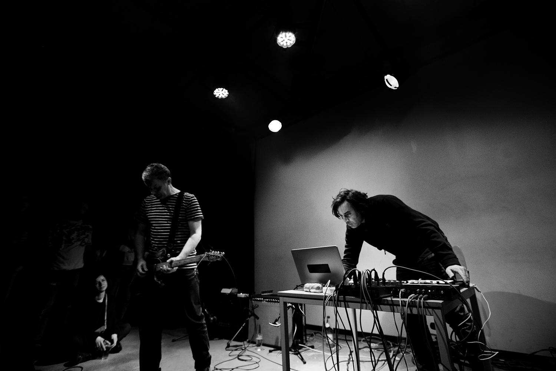 Andy Moor & Yannis Kyriakides by Laurent Orseau - Les Ateliers Claus - Brussels, Belgium - 2018-02-09 #2