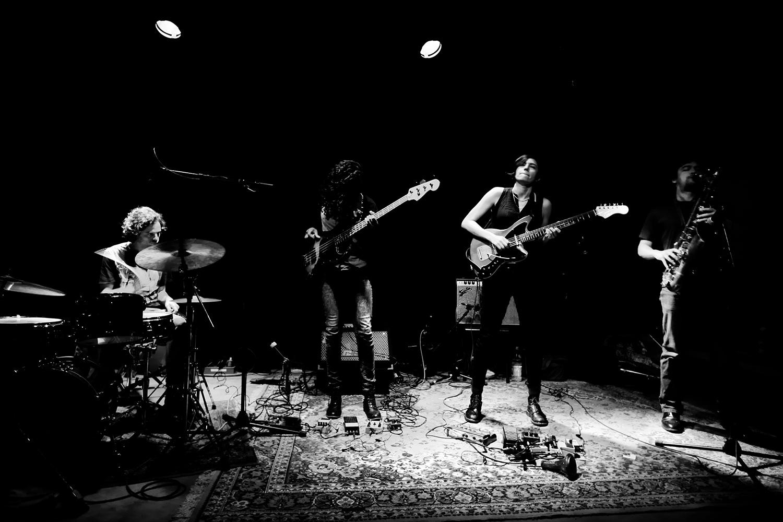 Ava Mendoza Quartet by Laurent Orseau - Les Ateliers Claus - Brussels, Belgium - 2018-03-19 #1