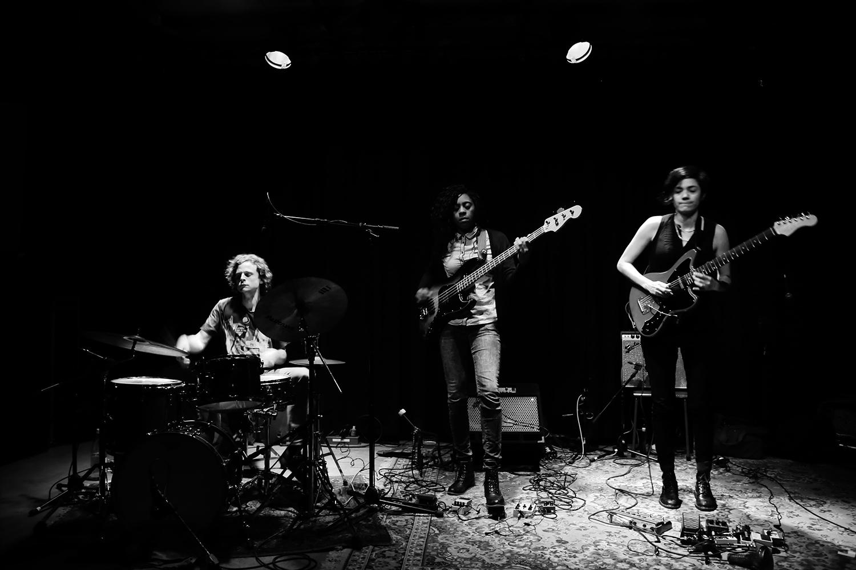 Ava Mendoza Quartet by Laurent Orseau - Les Ateliers Claus - Brussels, Belgium - 2018-03-19 #2