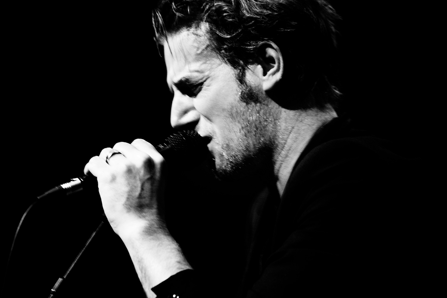 Bertrand Belin by Laurent Orseau - Café de la Danse - Paris, France - 2016-12-14 #2