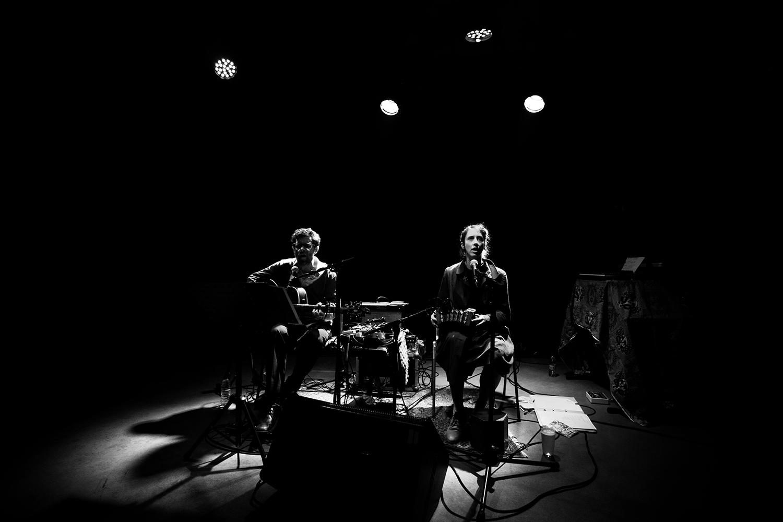 Eloïse Decazes & Eric Chenaux by Laurent Orseau - Les Ateliers Claus - Brussels, Belgium - 2017-10-12 #1