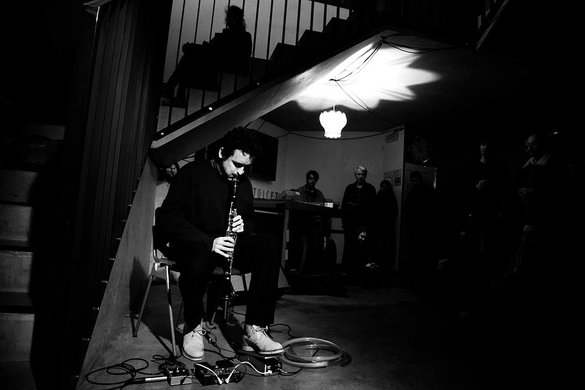 Joachim Badenhorst by Laurent Orseau - Les Ateliers Claus - Brussels, Belgium - 2016-03-25 #1