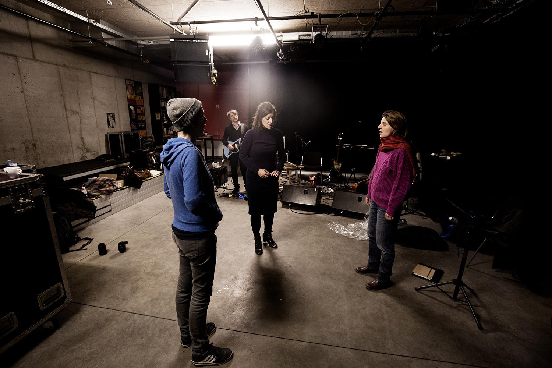 Midget ! by Laurent Orseau - Rehearsal - Les Ateliers Claus - Brussels, Belgium - 2017-12-15 #2