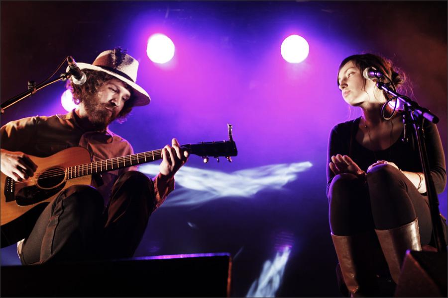 Benjamin Oak Goodman and Alina Hardin by Laurent Orseau - Nouveau Casino - Paris, France - 2009-04-17 #2