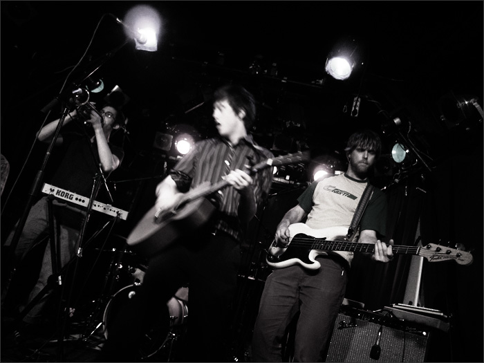 Okkervil River by Laurent Orseau - Guinguette Pirate - Paris, France - 2005-09-29 #1