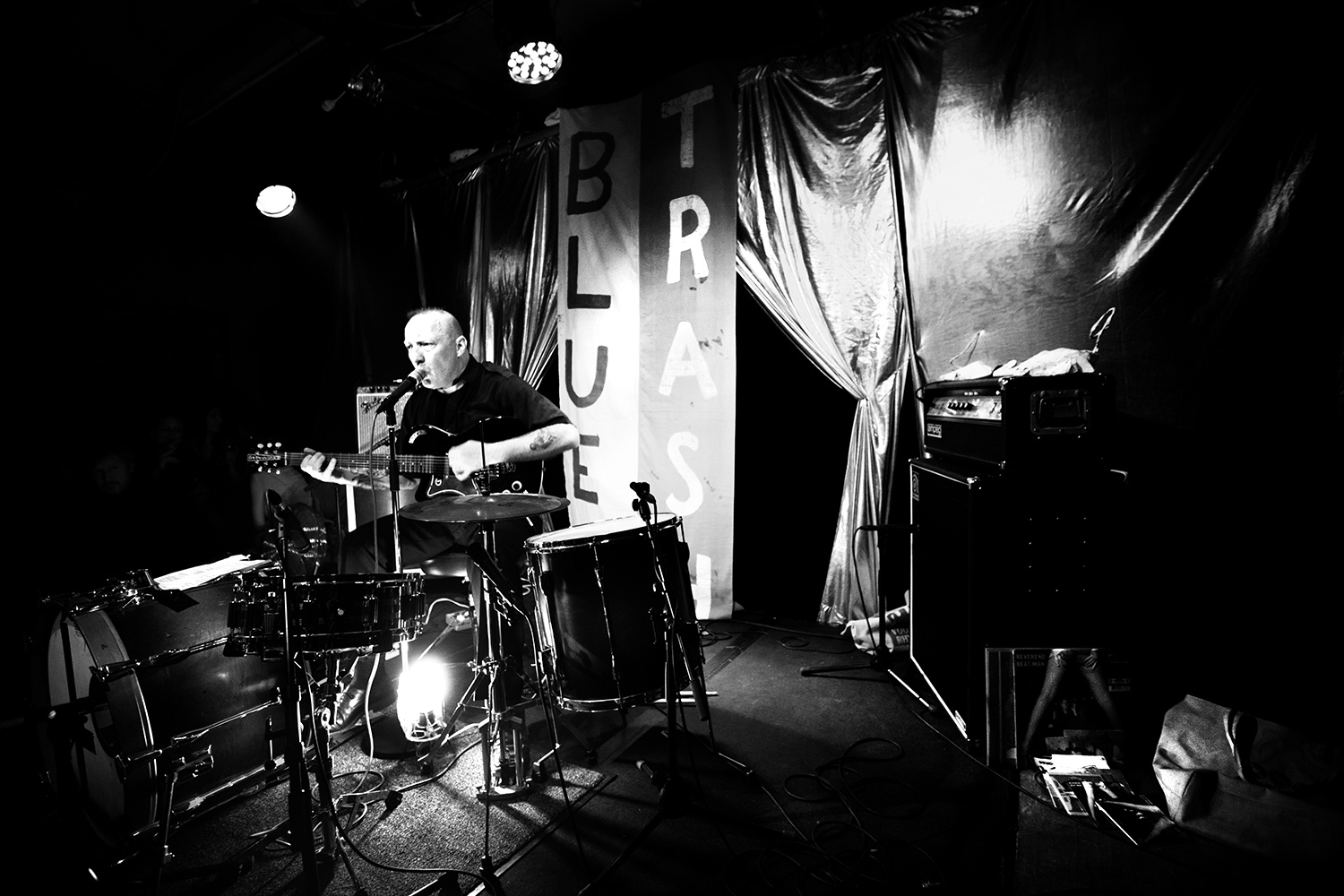 Reverend Beat-Man by Laurent Orseau - Les Ateliers Claus - Brussels, Belgium - 2017-03-31 #2
