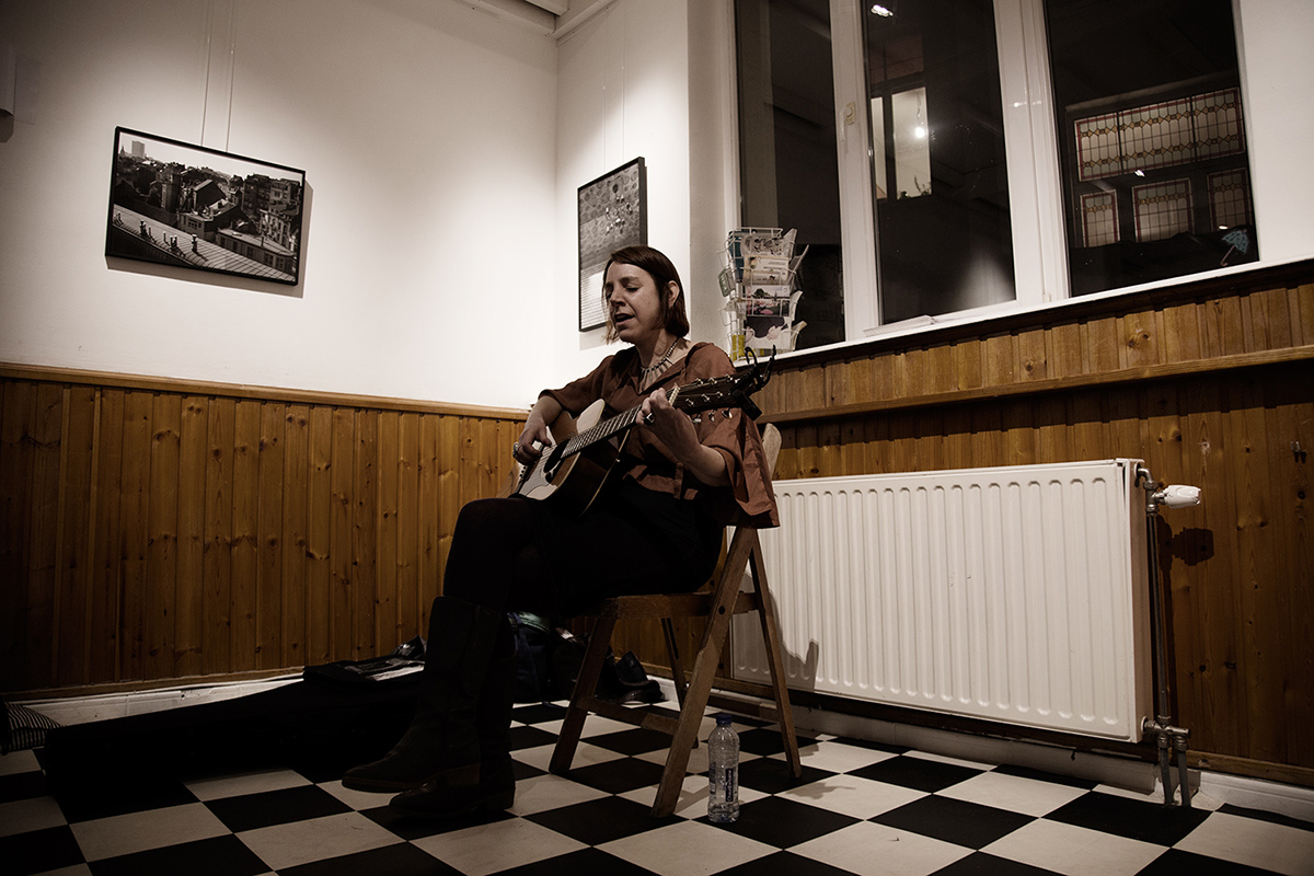 Sharron Kraus by Laurent Orseau - La Carotte - Brussels, Belgium - 2015-11-08 #1