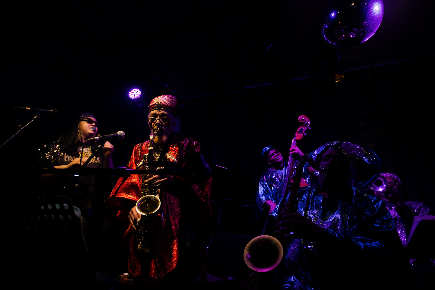 Sun Ra Arkestra directed by Marshall Allen by Laurent Orseau - Les Ateliers Claus - Brussels, Belgium - 2017-03-25 #1