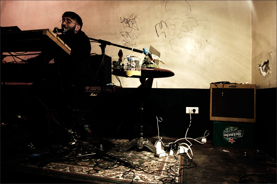 This Is The Hello Monster by Laurent Orseau - Pop In - Paris, France - 2010-01-13 #2