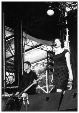 The Audience by Laurent Orseau - La Route du Rock - St Malo, France - 1998-08-16 #1