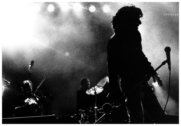 Rachid Taha by Laurent Orseau - La Route du Rock - St Malo, France - 1998-08-14 #2