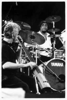 Nitin Sawhney by Laurent Orseau - La Route du Rock - St Malo, France - 1999-08-15 #2