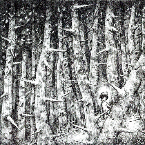 May Ann Licudine :: Mall's Art Diary (pencil drawing) | hinah exhibitions #2