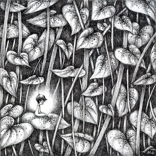 May Ann Licudine :: Mall's Art Diary (pencil drawing) | hinah exhibitions #3