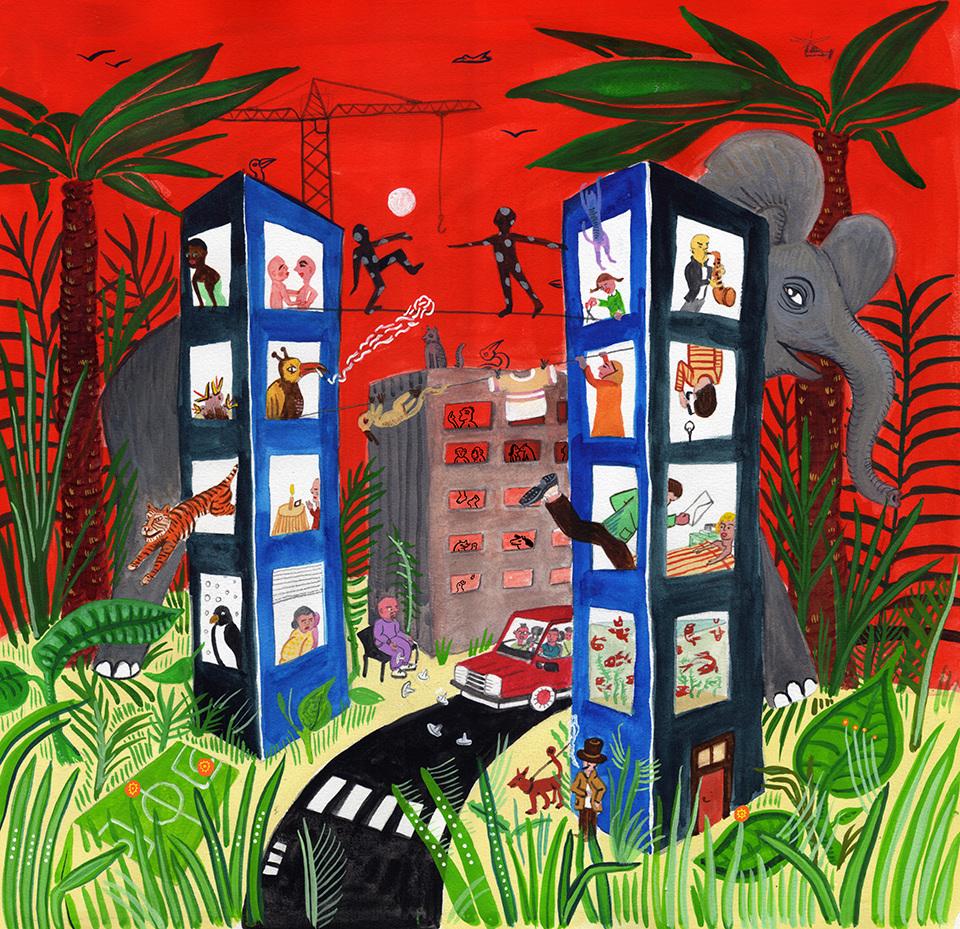 .: Sarah Yu Zeebroek :: Illustrations