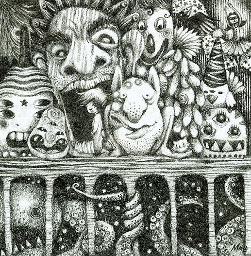 May Ann Licudine :: Babu and his kitten Abu | hinah exhibitions #3