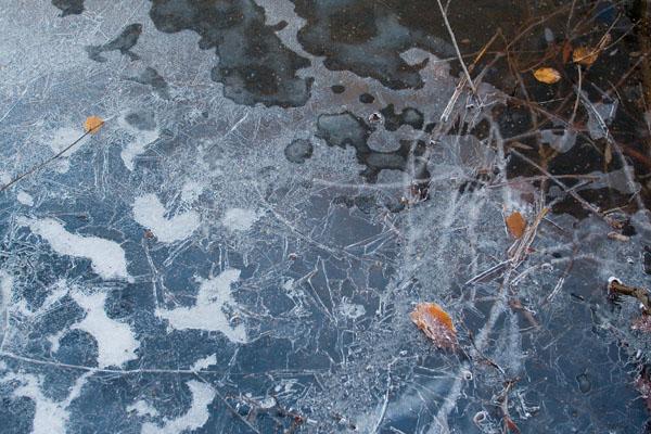 .: Marise Laget :: à mes pieds, reflets gelés