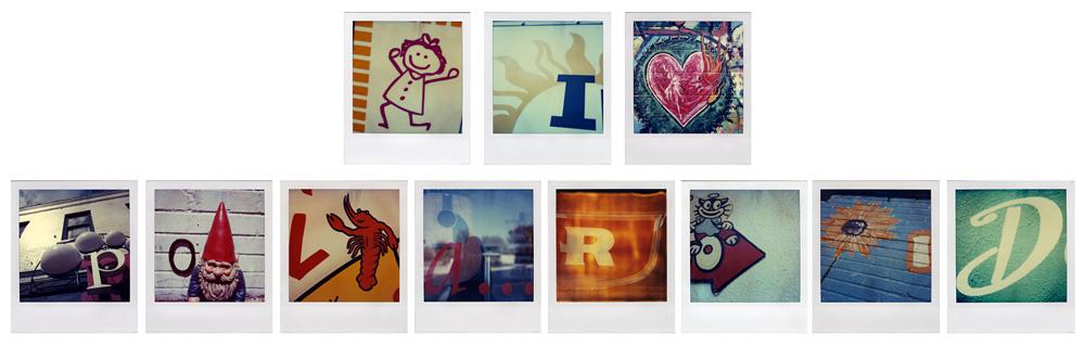Ann Texter :: I Love Polaroid | hinah exhibitions #1