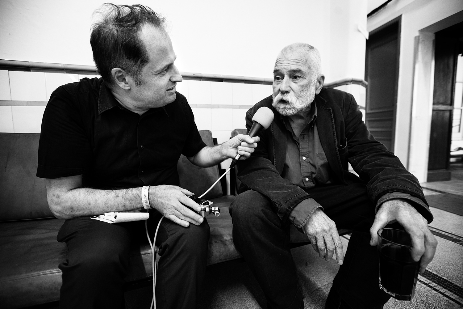 Peter Brötzmann Interviewed By Nico Bogaerts by Laurent Orseau #4