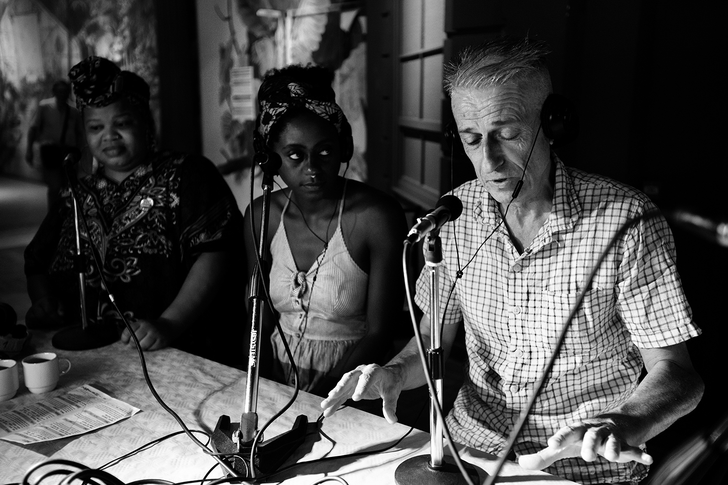 Steve Noble, Farida Amadou & Angel Bat Dawid - Interview by Laurent Orseau #2