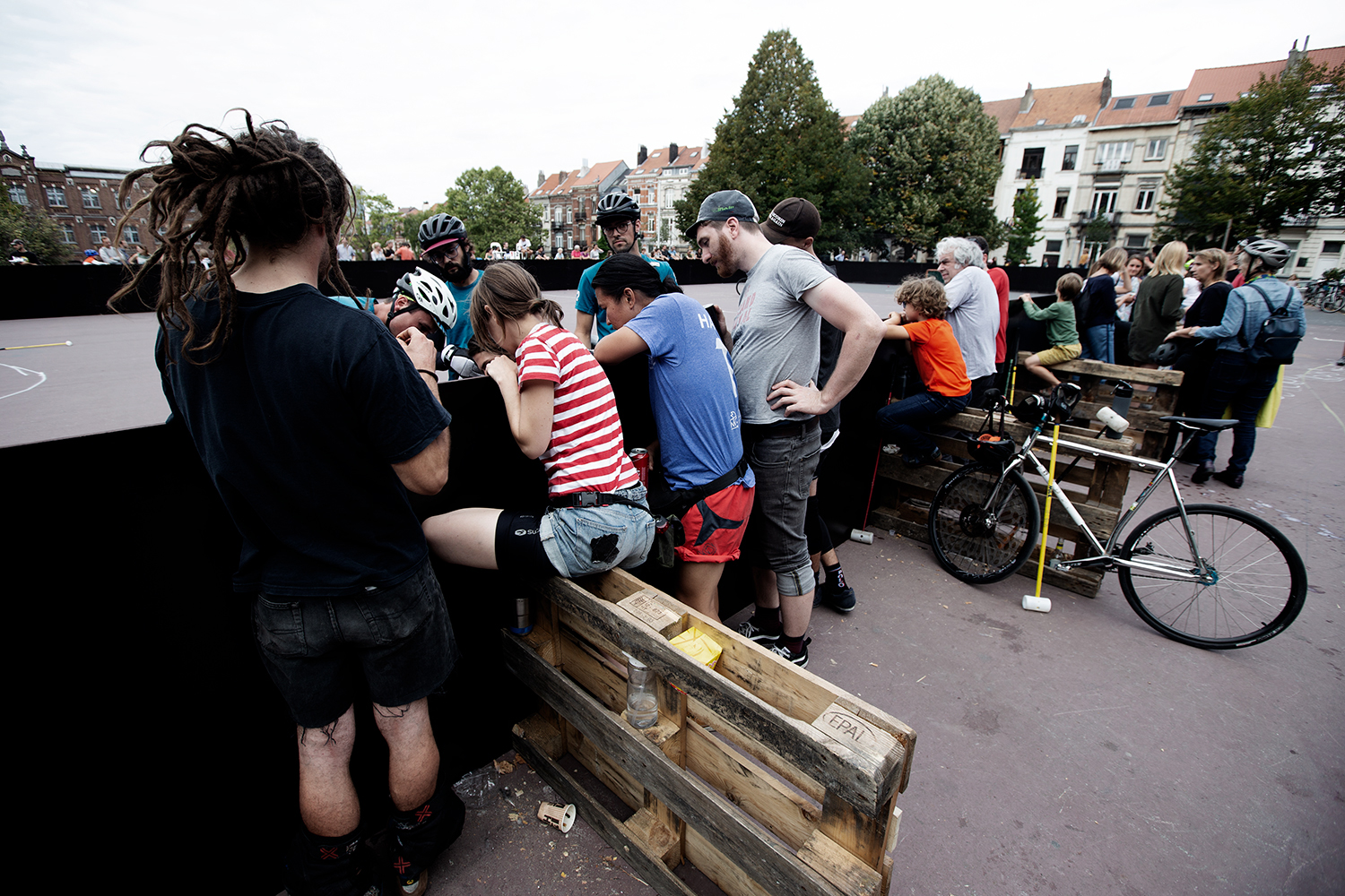 Brussels Bike Polo - Le Grand Royal 8 - 2019 by Laurent Orseau #10