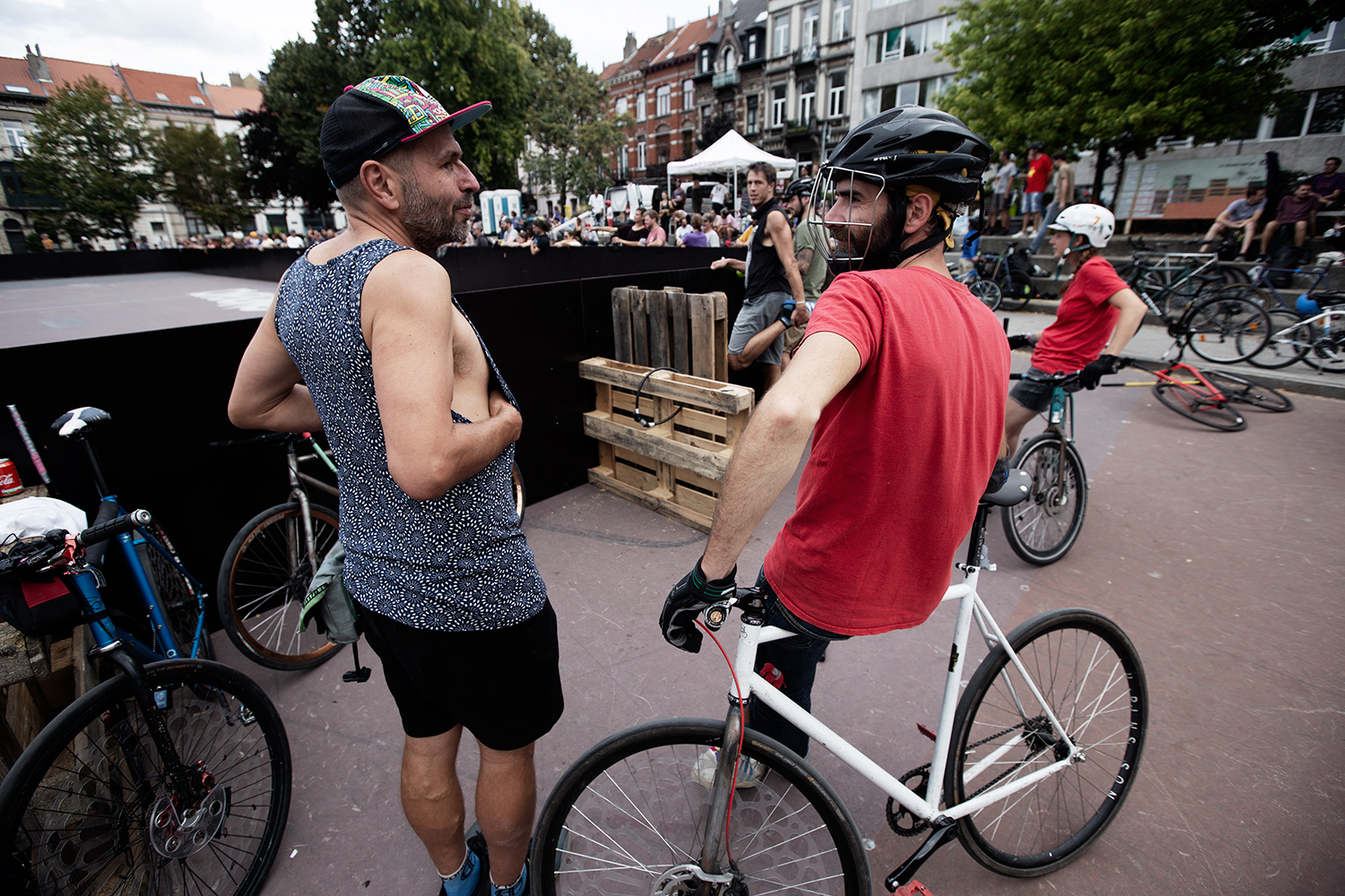 Brussels Bike Polo - Le Grand Royal 8 - 2019 by Laurent Orseau #13