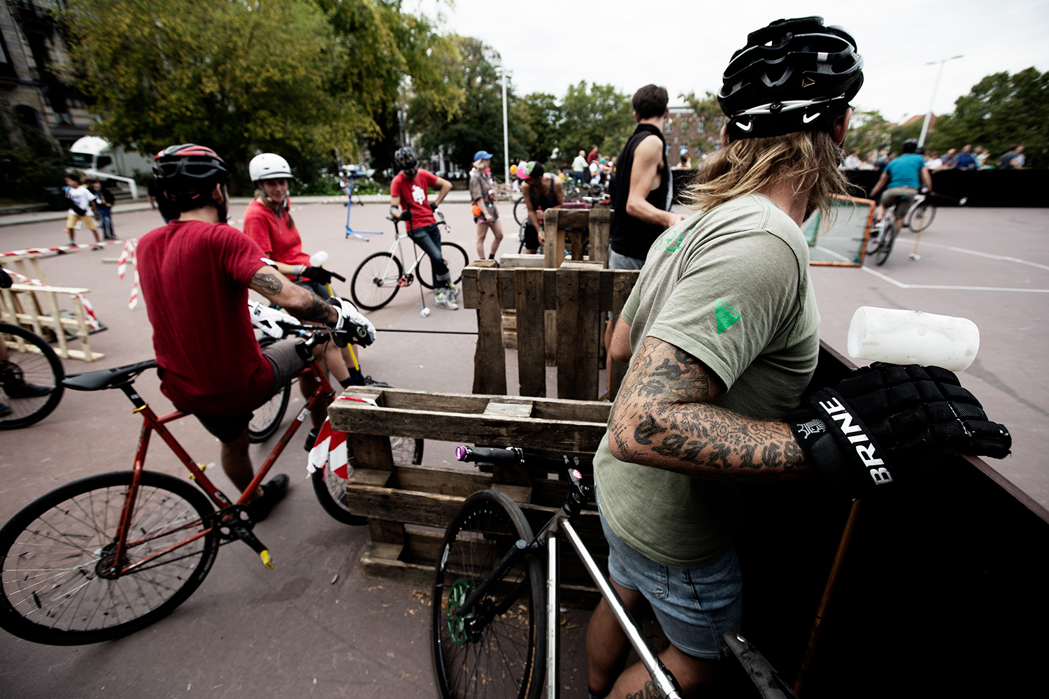 Brussels Bike Polo - Le Grand Royal 8 - 2019 by Laurent Orseau #14