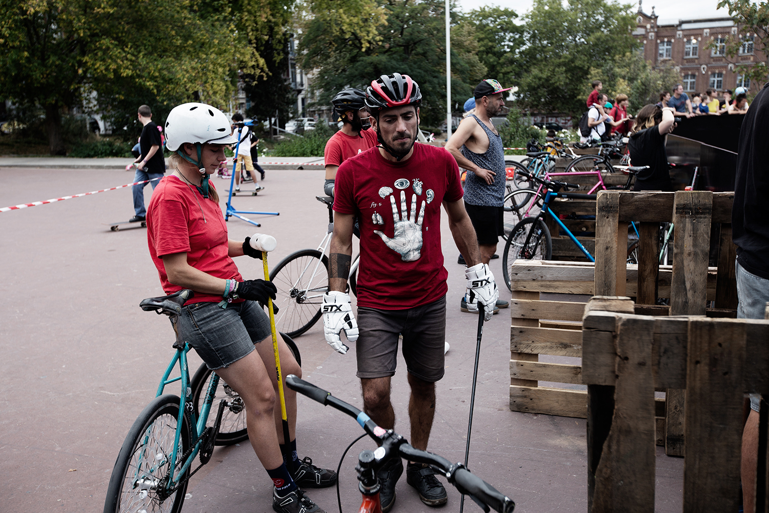 Brussels Bike Polo - Le Grand Royal 8 - 2019 by Laurent Orseau #15