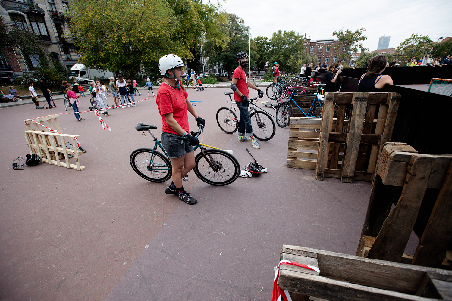 Brussels Bike Polo - Le Grand Royal 8 - 2019 by Laurent Orseau #17