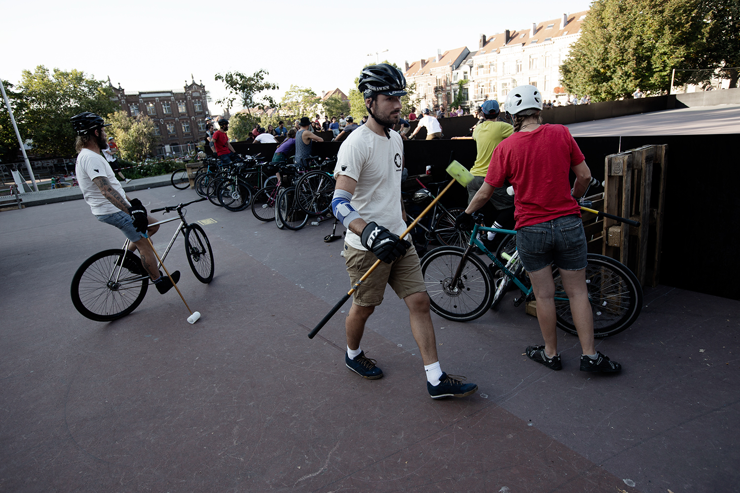 Brussels Bike Polo - Le Grand Royal 8 - 2019 by Laurent Orseau #2