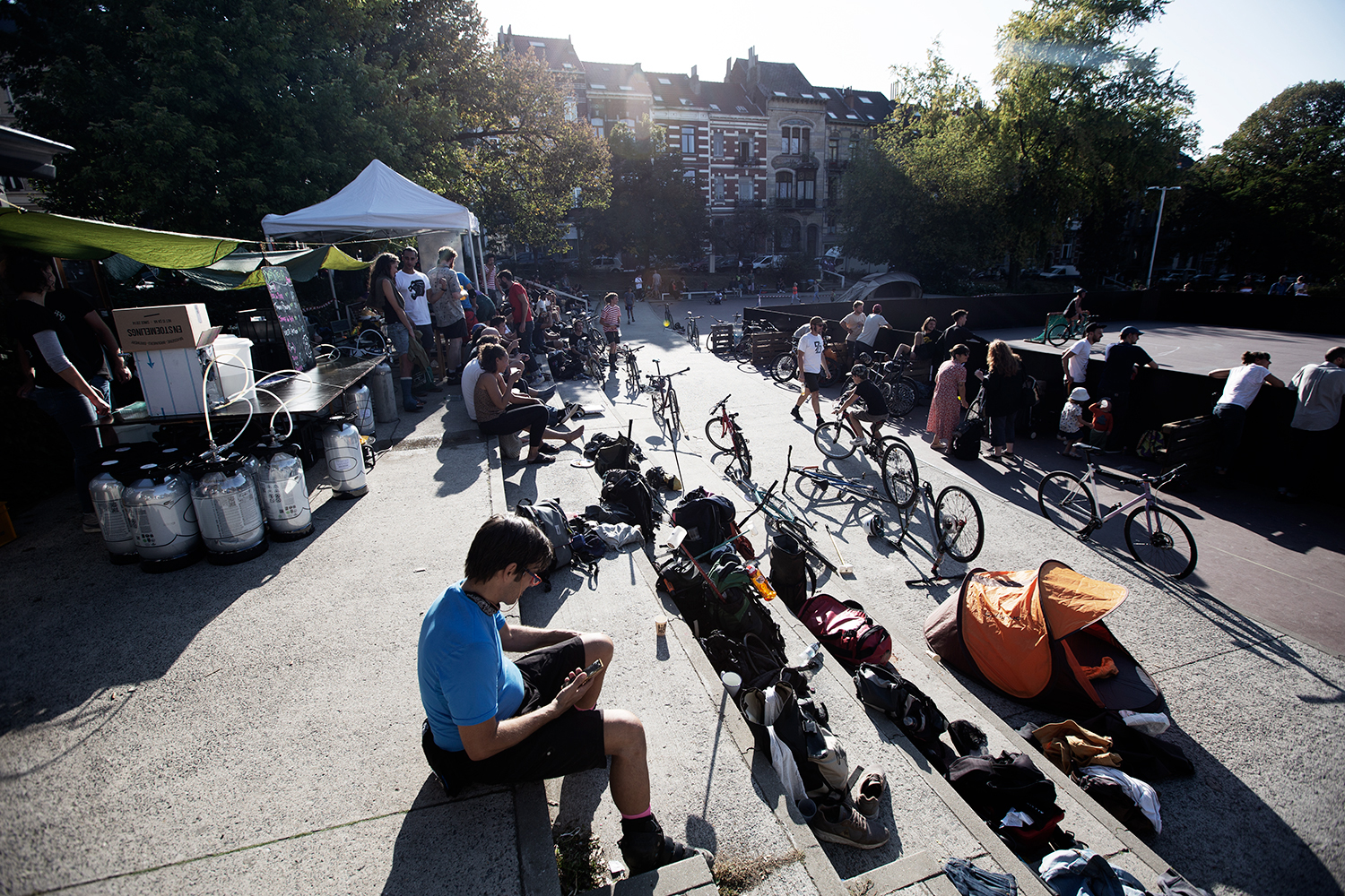 Brussels Bike Polo - Le Grand Royal 8 - 2019 by Laurent Orseau #25