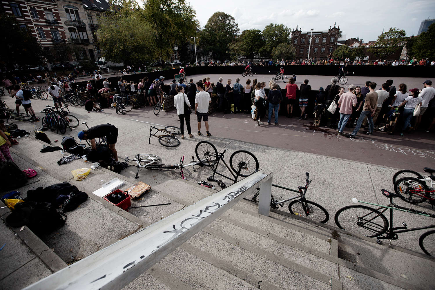 Brussels Bike Polo - Le Grand Royal 8 - 2019 by Laurent Orseau #27